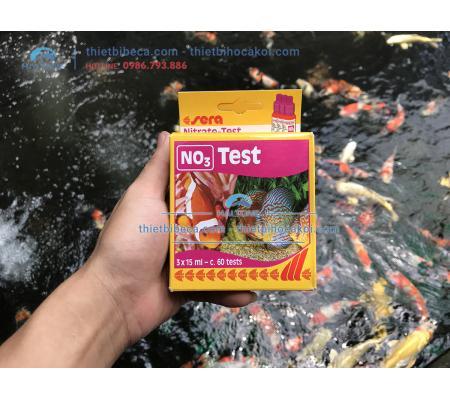 Test NO3 Sera - Kiểm tra NO3 hồ cá Koi