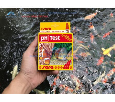 Test PH Sera - Kiểm tra PH hồ cá koi