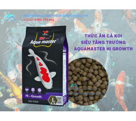 Thức Ăn Cá Koi Siêu Tăng Trưởng Aquamaster Hi Growth 5kg
