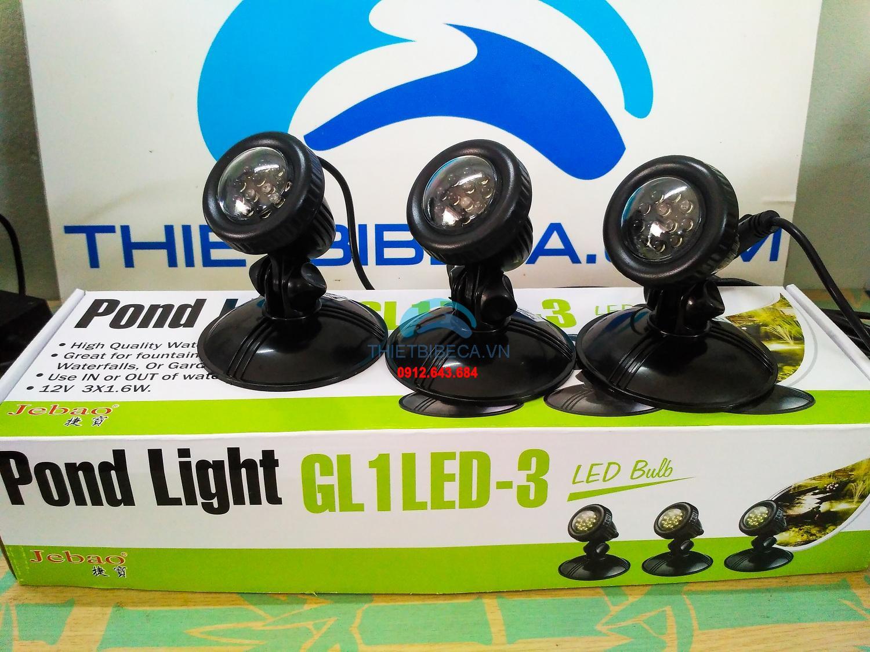 ĐÈN LED 3 BÓNG JEBAO GL1-LED-3
