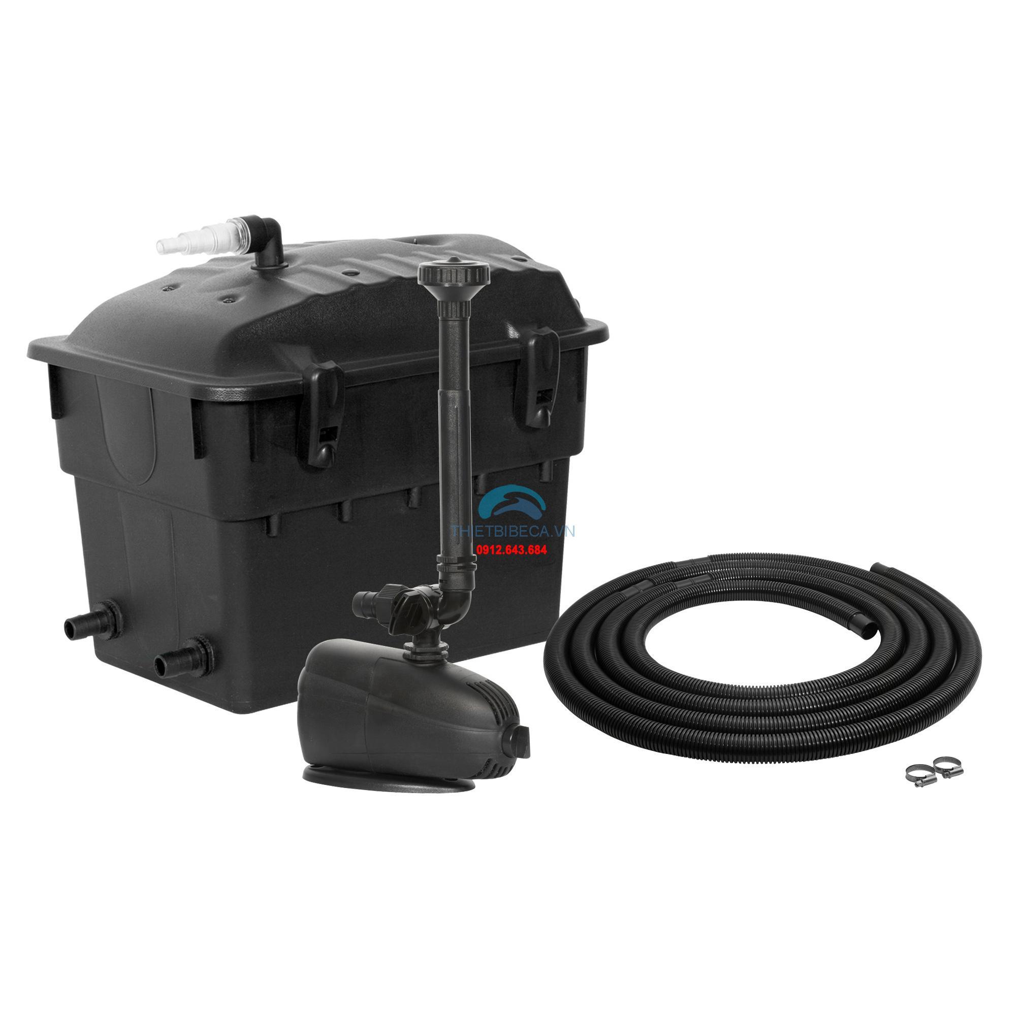 Bộ máy lọc thùng cho hồ cá koi 5m3 Aquael KlarJet 5000