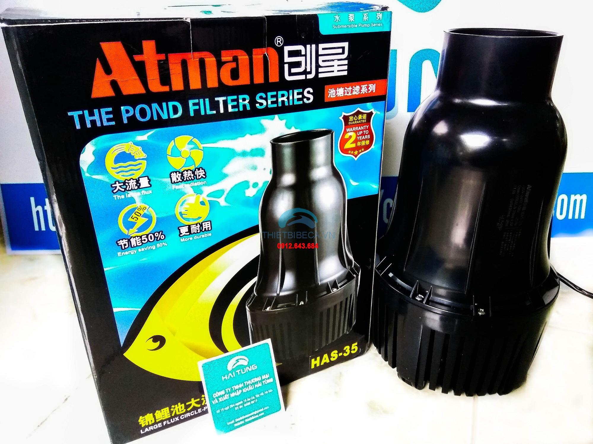 Bơm tạt Atman HAS35