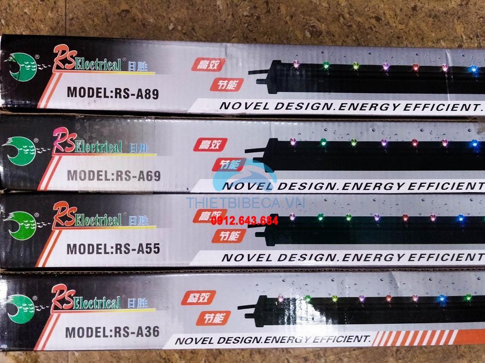 Đèn led đổi màu gắn sủi khí RS A69