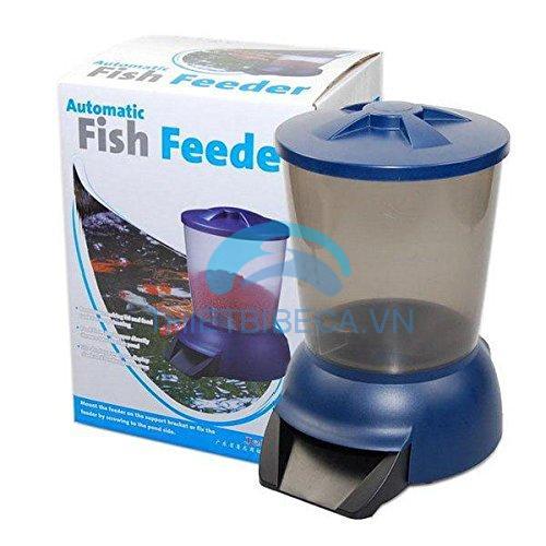 Máy cho cá Koi ăn tự động Jebao tặng pin