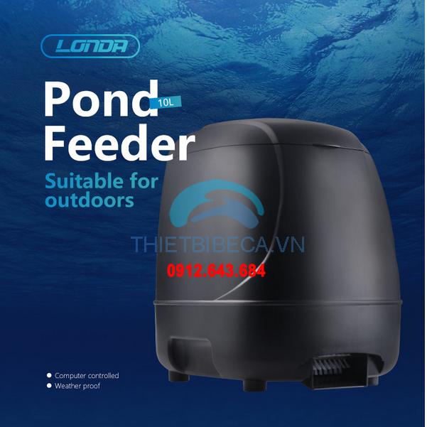 Máy cho cá Koi ăn tự động mẫu 2018