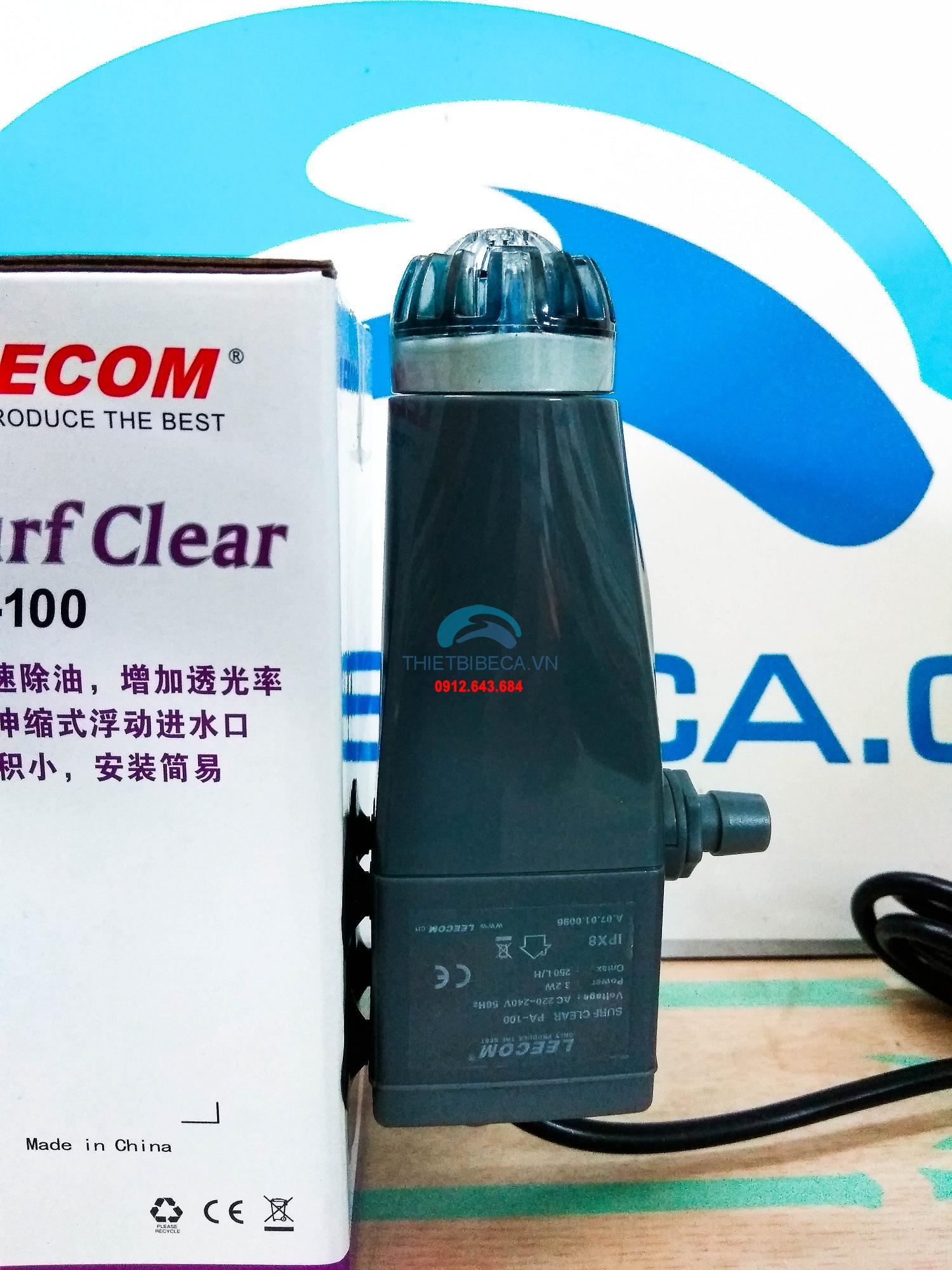 Máy hút mặt Leecom PA100