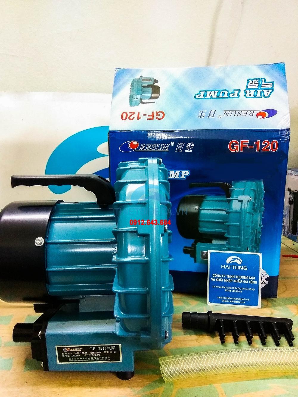 Máy sủi Resun GF120 190l/h
