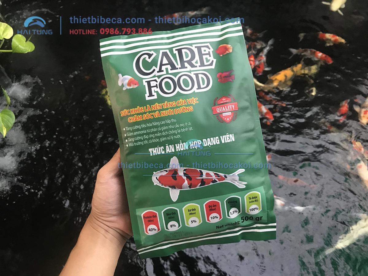 Thức Ăn Cá Koi Tăng Màu Care Food Growth Color 500g