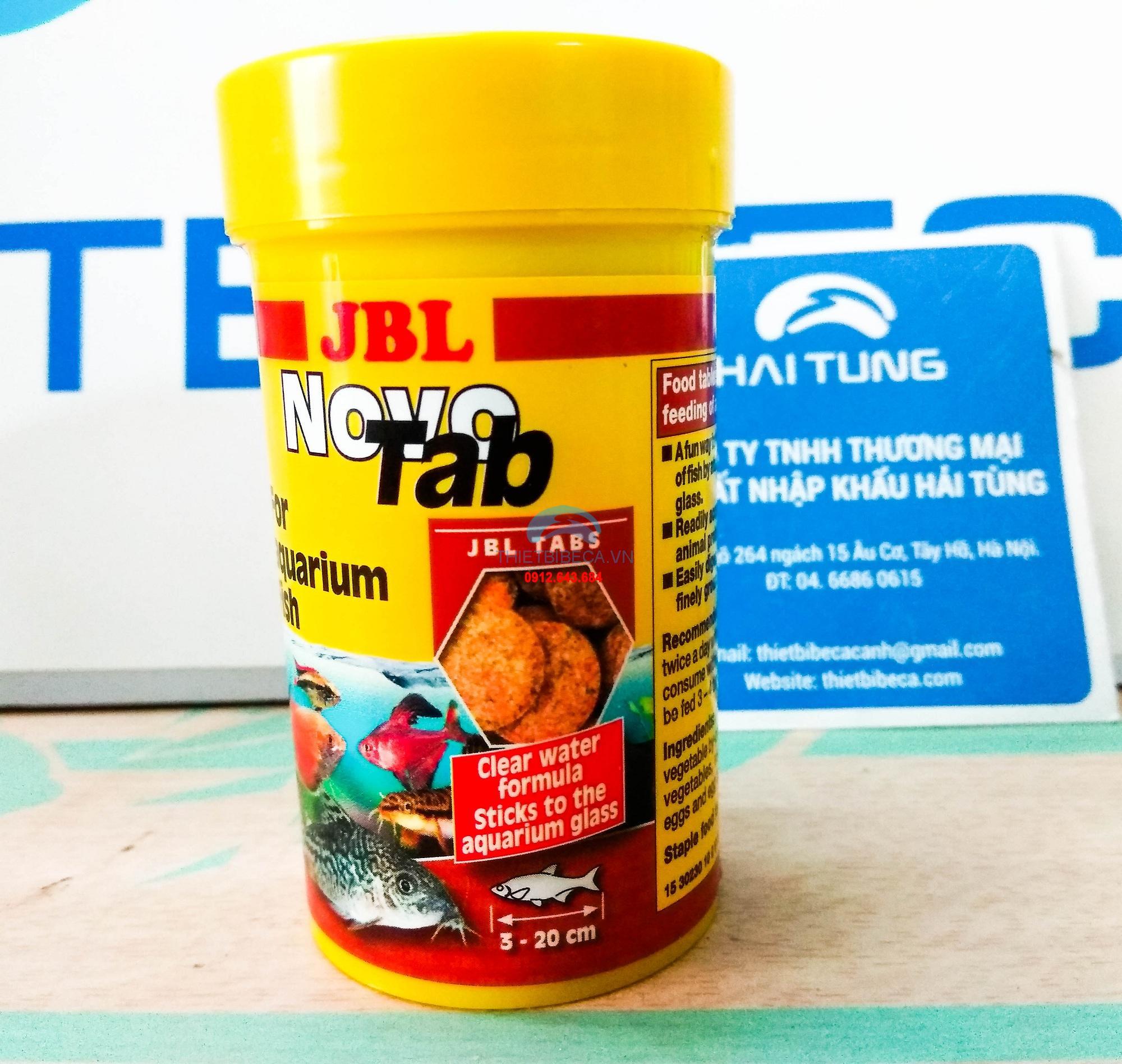 Thức ăn cá viên dán JBL