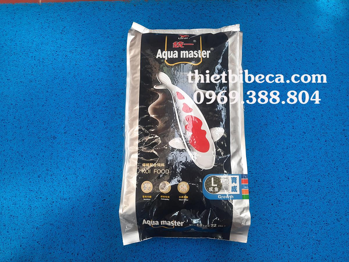 Thức ăn chép Koi Aquamaster tăng trọng Growth 10kg