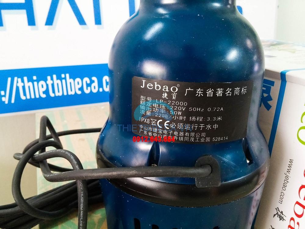 Bơm tạt Jebao LP22000 175W