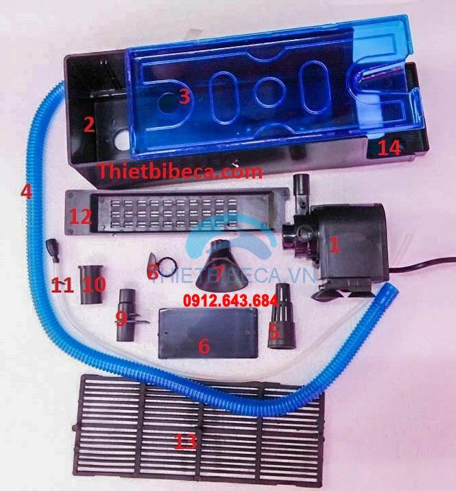 Máy lọc máng RS 680C