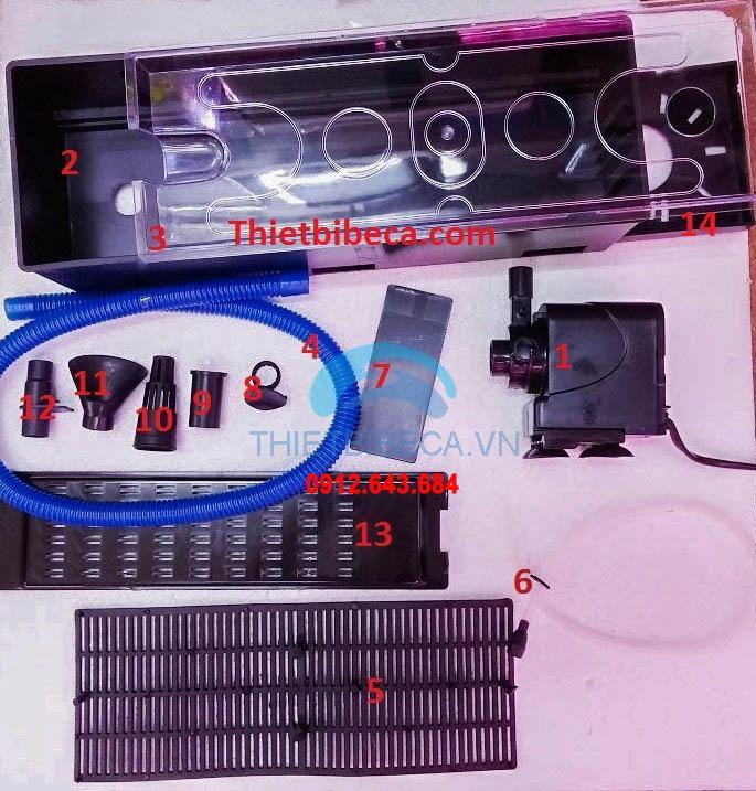 Máy lọc máng RS 9900