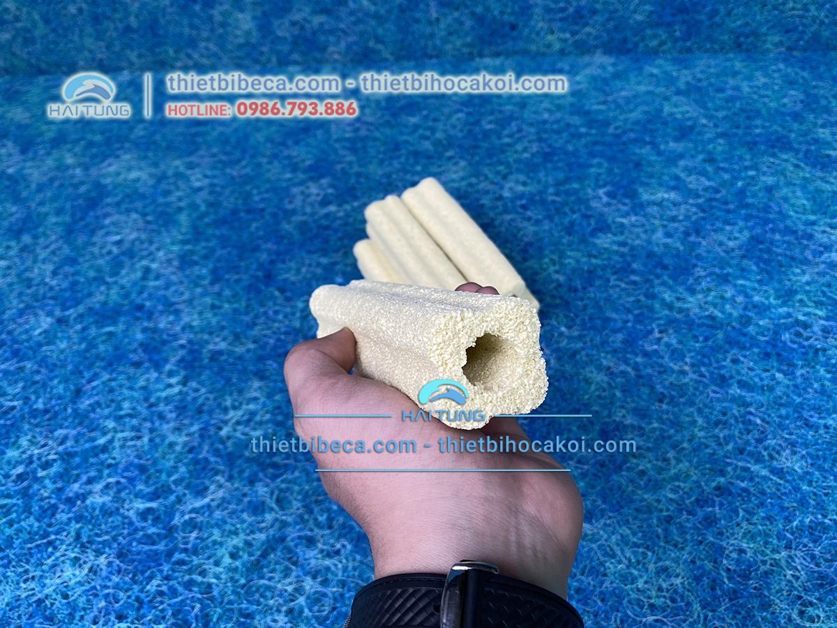 Sứ thanh lọc nước - thanh sứ vàng 14cm