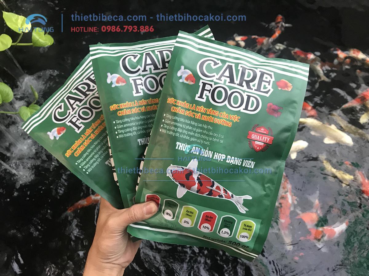 Thức Ăn Cá Koi tăng trưởng Care Food Growth Spirulina 500g