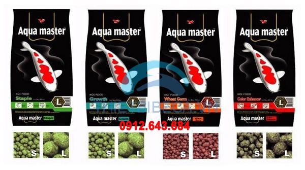 Thức ăn chép Koi Aquamaster tăng trọng Growth 5kg