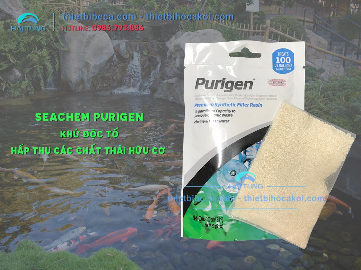 Vật liệu lọc Seachem Purigen 100ML đã gồm túi