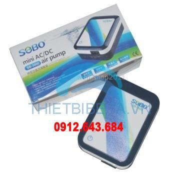 Máy sủi điện - ắc quy mini Sobo SB 3000