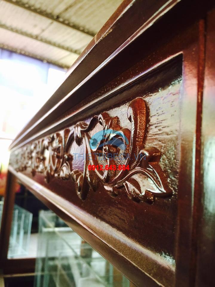 Bể cá rồng VH 198-C có chạm chân