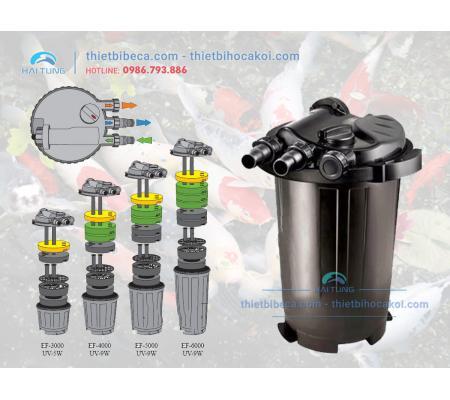 Thùng lọc đèn UV Atman EF 6000UV