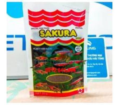 Bộ 2 gói Thức ăn Sakura cho cá nhỏ - túi 20gr