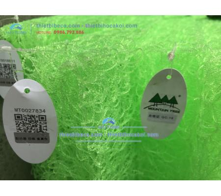 Bùi Nhùi Xanh - Jmat Xanh Mountain Tree Spiral Filter Mat