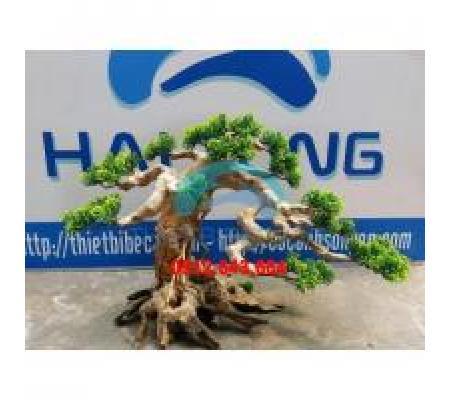 Cây giả gỗ bonsai lớn