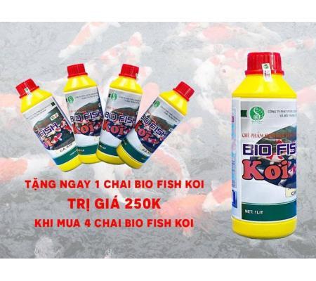 Combo mua 4 tặng 1 vi sinh hồ Koi BIO FISH KOI