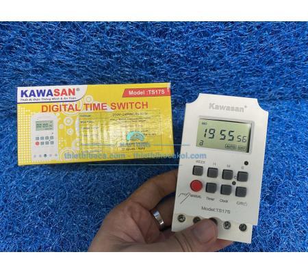 Công tắc hẹn giờ kĩ thuật số  - đấu tủ điện