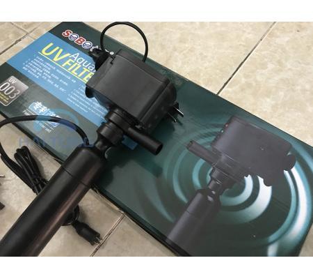 Đèn UV Sobo 003 Kèm Máy Bơm Diệt Khuẩn, Rêu Tảo