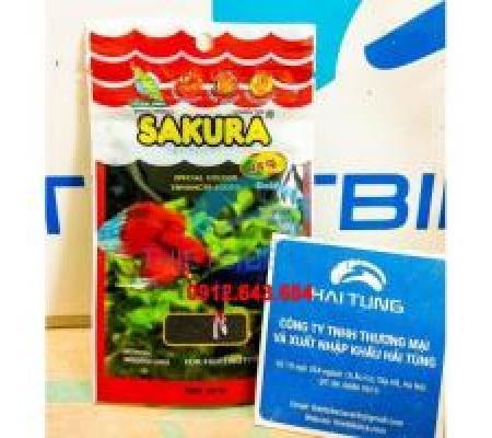 Hai gói thức ăn Sakura cá chọi, betta