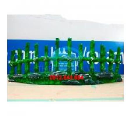 Hàng rào nhựa 01