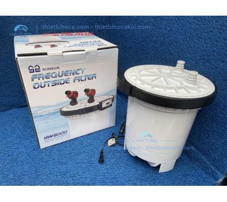 Lọc thùng bể cá cảnh Sunsun HW 5000