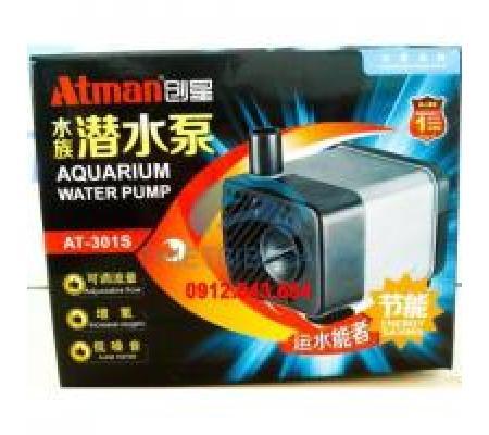 Máy bơm Atman AT301S công suất 2.5W , 230L/H