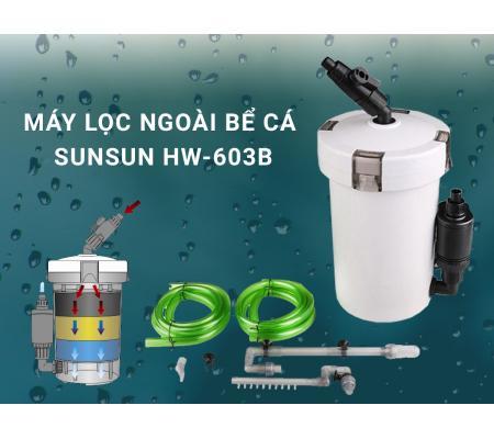 Máy Lọc Ngoài Bể Cá Sunsun HW 603B