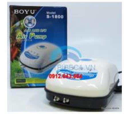 Máy sủi tích điện BOYU S1800