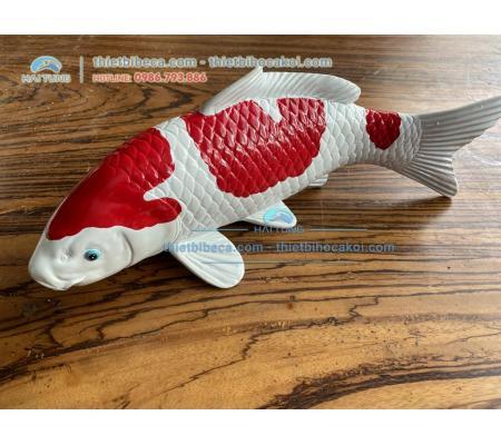 Mô hình cá Koi Kohaku 40cm