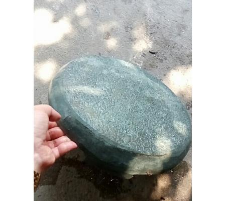 Nắp thoát đáy hồ koi bằng đá D30cm