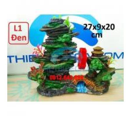 Núi nhựa trang trí size L