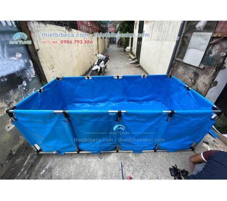 Tank bạt chữ nhật rộng 150cm dài 200cm cao 80cm