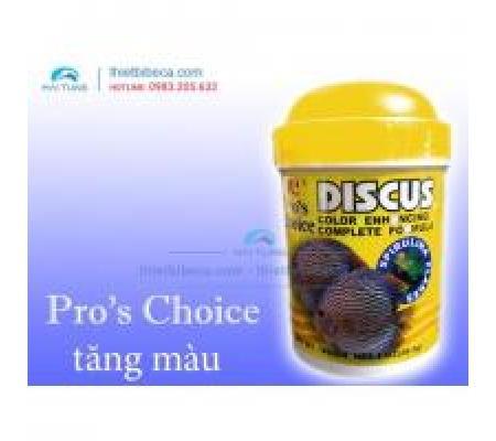 Thức ăn cá đĩa Pro 's Choice Discus lọ lá 28g