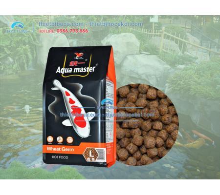 Thức Ăn cá Koi Mùa Đông Aquamaster Wheat Germ bao 5kg