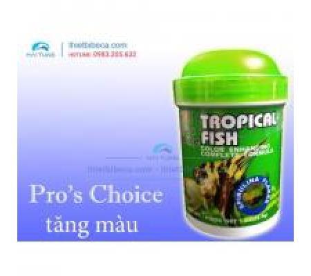 Thức ăn cá nhỏ Pro 's Choice Tropical Fish lọ lá 28.5g