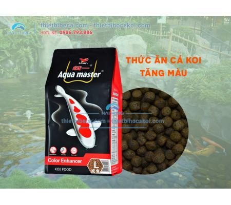 Thức ăn chép Koi Aquamaster lên màu Colour Enhancer 5kg