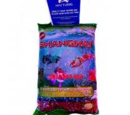 Thức ăn Shanghai gói 500g đỏ hạt lớn 2 gói
