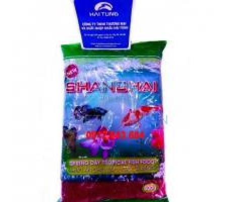 Thức ăn Shanghai gói 500g đỏ hạt nhỏ 2 gói