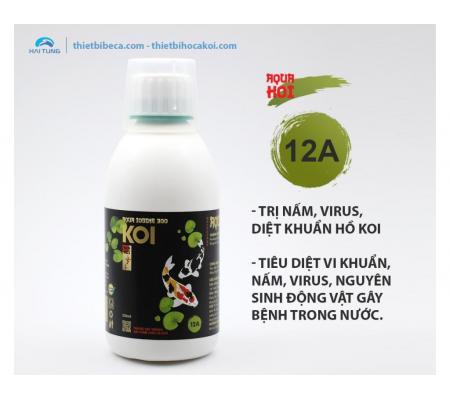 12A Trị nấm, diệt khuẩn gây bệnh hồ koi AQUA IODINE 300 (AquaKoi)